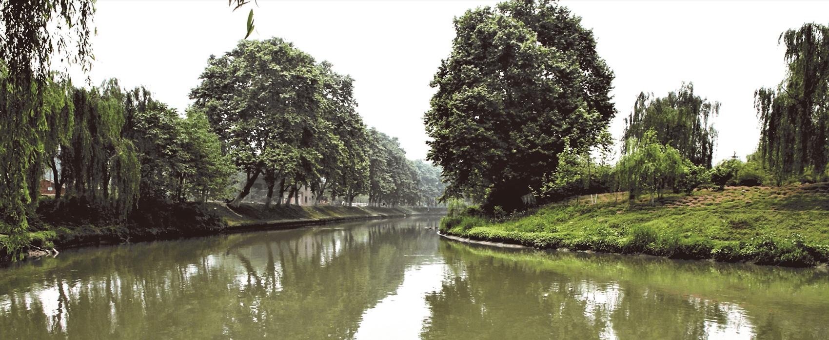 爱水让故事在河边发生